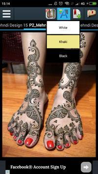 Mehndi Design For Feet 2017 screenshot 7