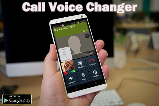 Voice Changer call pro screenshot 1