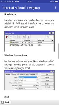 Tutorial Mikrotik Lengkap screenshot 2
