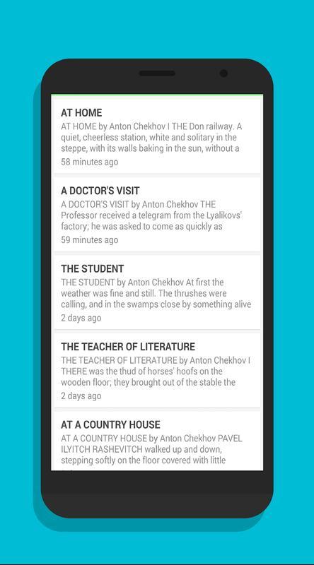Anton Chekhov Stories For Android