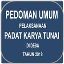 Pedoman Padat Karya Tunai di Desa Tahun 2018 APK