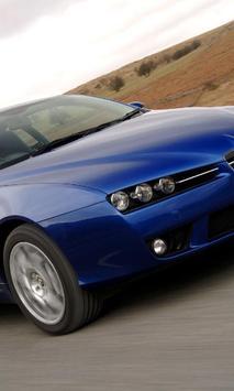 Themes Alfa Romeo Brera UK poster
