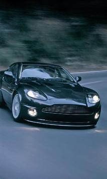 Themes Aston Martin Vantage poster