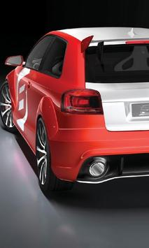 Wallpapers Audi A3 poster