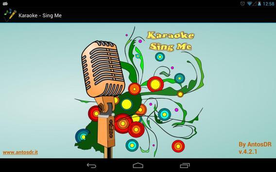 Karaoke - Sing Me (Free/Lite) poster