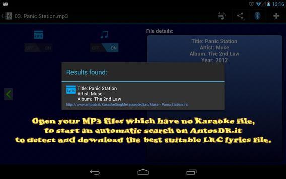 Karaoke - Sing Me (Free/Lite) screenshot 6