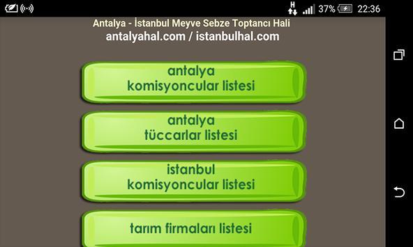 Tarım Alanı - antalyahal.com apk screenshot