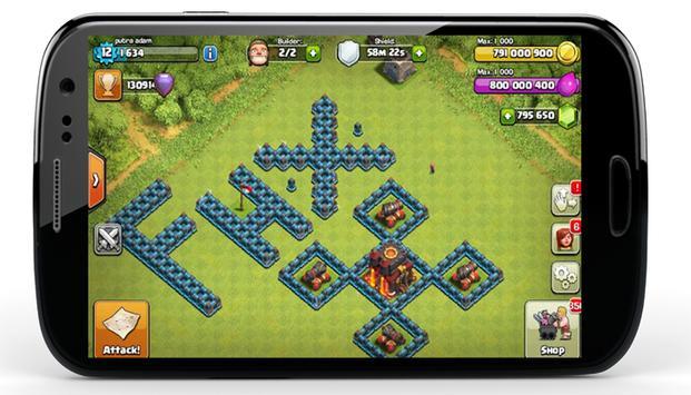 FHx CoC Base TH 11 New apk screenshot