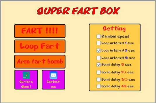 Super Fart Box poster