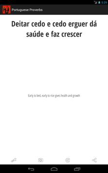 Portuguese Proverbs screenshot 3