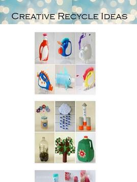 Creative Recycle Ideas poster