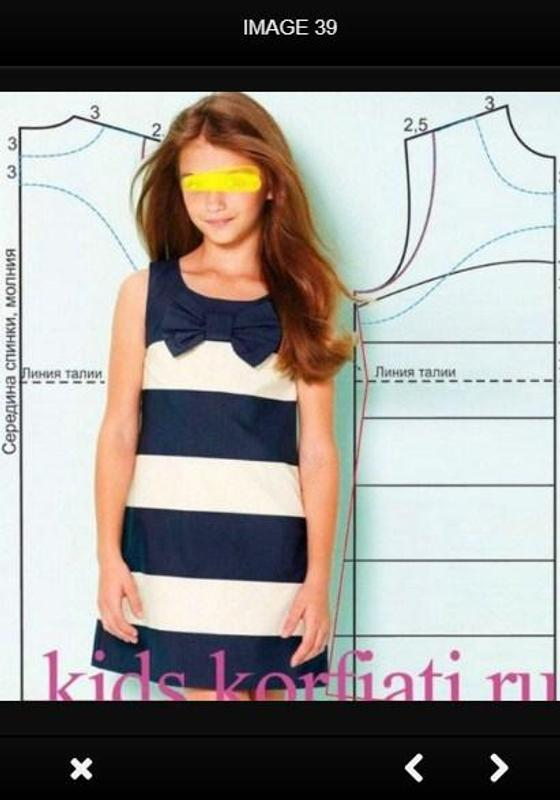 Kinderbekleidung Nähmuster APK-Download - Kostenlos Kunst & Design ...