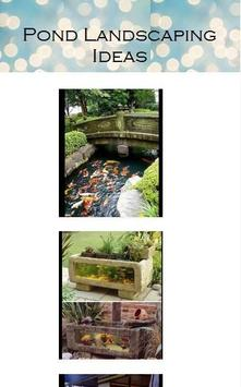 Pond Landscaping Ideas apk screenshot