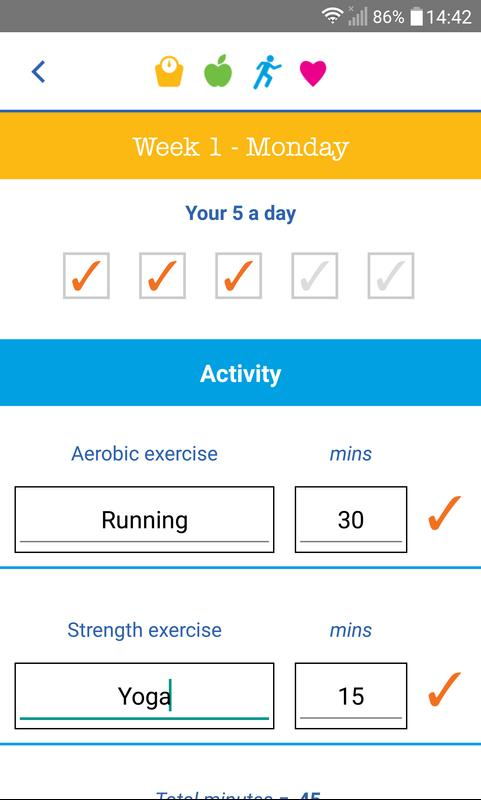 NHS Weight Loss Plan for Android - APK Download