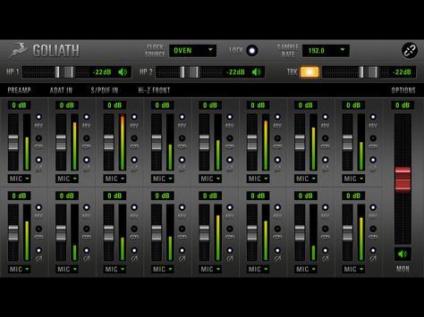 Goliath Remote screenshot 2