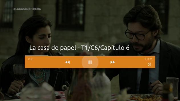 Atresplayer Android TV apk screenshot