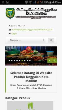 Produk Unggulan Kota Madiun poster