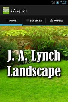 J.A. Lynch Landscaping poster