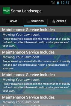 Sama Landscaping Service apk screenshot