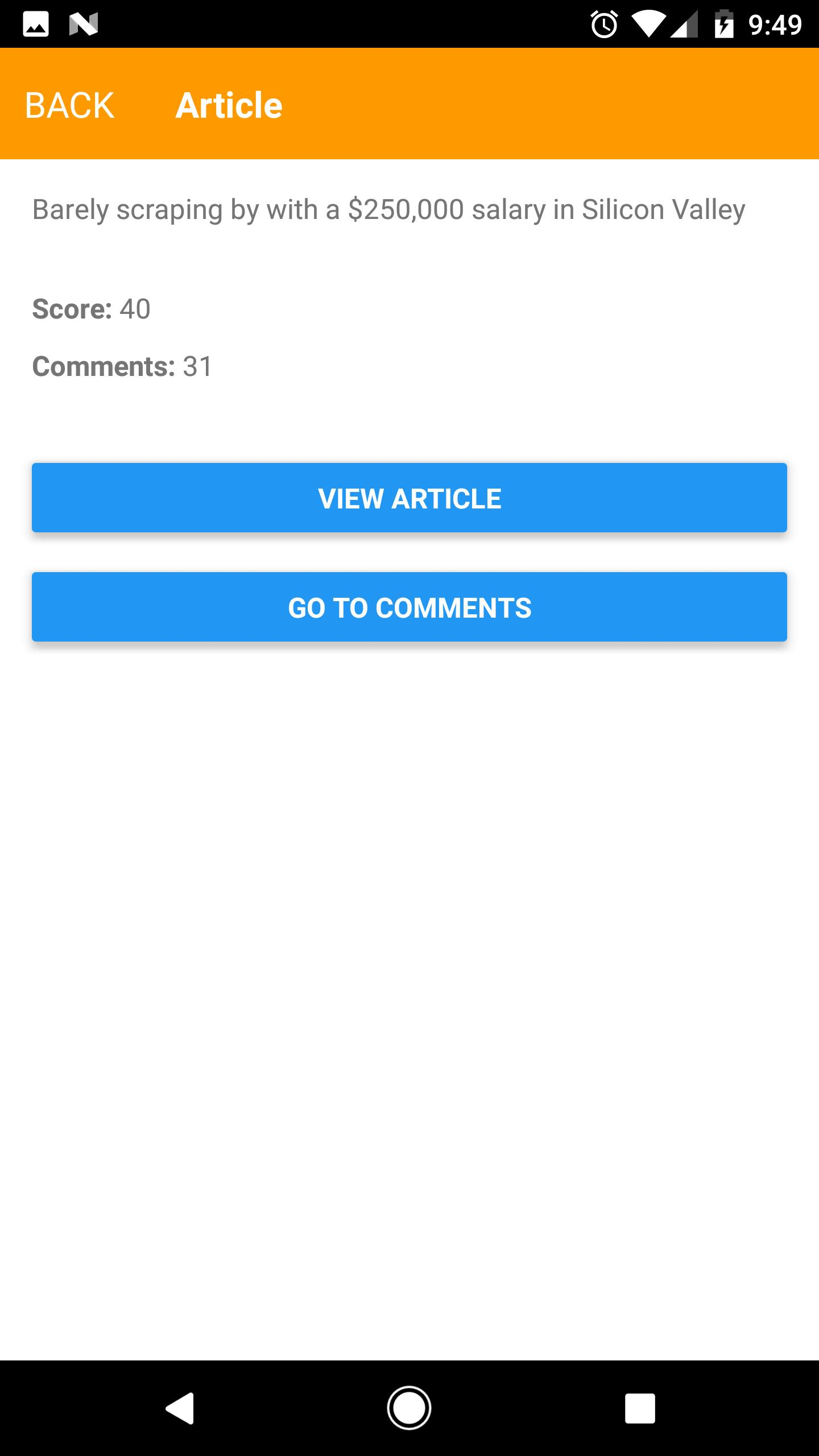 Hacker News 100 - React Native for Android - APK Download