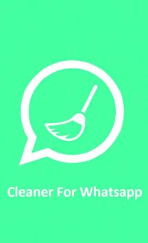 Cleaner For Whatsapp poster