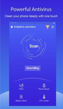 Powerful Antivirus poster