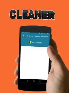 Antivirus, Cleaner & RAM Booster apk screenshot