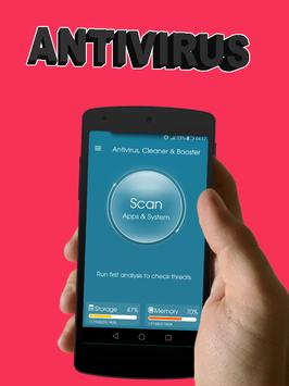 Antivirus, Cleaner & RAM Booster poster