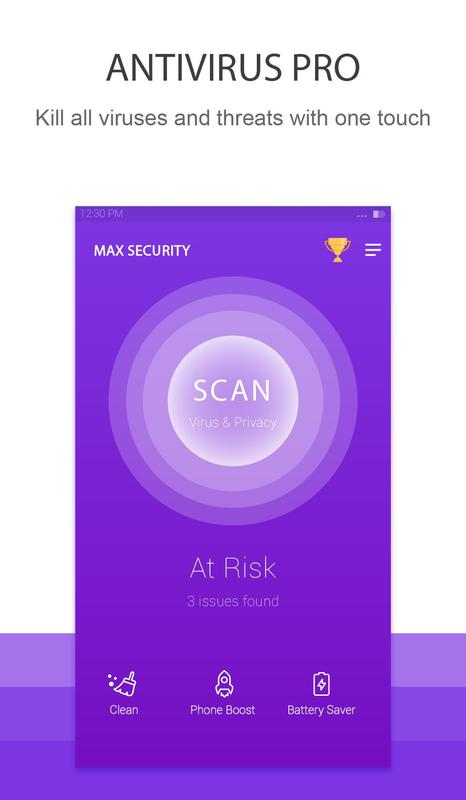 Max Security(Virus Cleaner) for Android - APK Download
