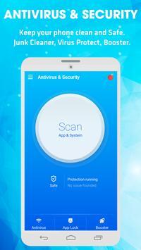 Antivirus & Virus Remover (Applock, Clean, Boost) poster