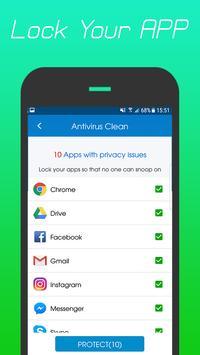 360 Antivirus Security Lite (Booster&Cleaner) ảnh chụp màn hình 2