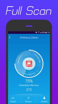 360 Antivirus Security Lite (Booster&Cleaner) ảnh chụp màn hình 3