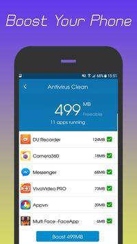 360 Antivirus Security Lite (Booster&Cleaner) ảnh chụp màn hình 6
