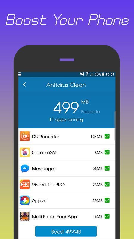 ... 360 Antivirus Security Lite (Booster&Cleaner) ảnh chụp màn hình 6 ...