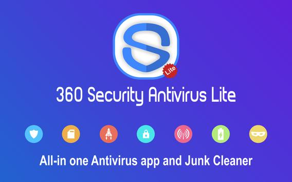360 Antivirus Security Lite (Booster&Cleaner) poster