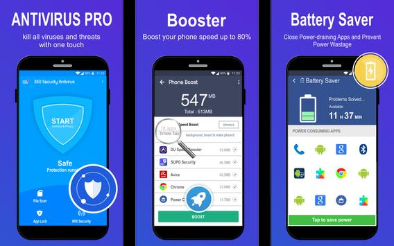 360 Antivirus Security Lite (Booster&Cleaner) screenshot 1