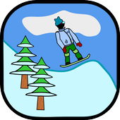 Antibored Snowboarder icon