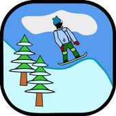 Antibored Snowboarder أيقونة