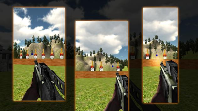 Free Bottle Shooter 3D apk screenshot