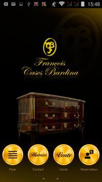 Antiquités Cases Bardina poster