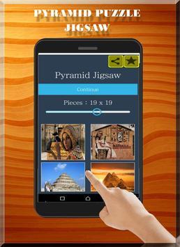 Pyramid jigsaw AntiStress : Free Puzzle poster
