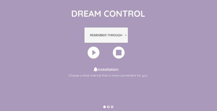Dream Control poster