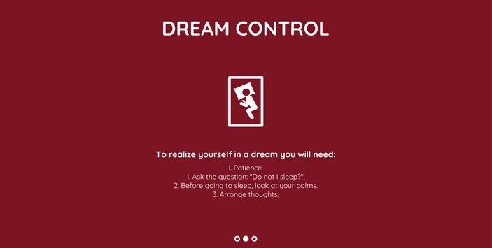 Dream Control screenshot 2