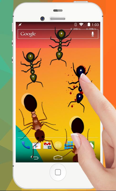 ants in phone insect crush apk download free educational game for android. Black Bedroom Furniture Sets. Home Design Ideas