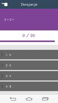 Matematički Kviz screenshot 1