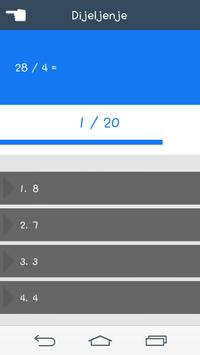 Matematički Kviz screenshot 2
