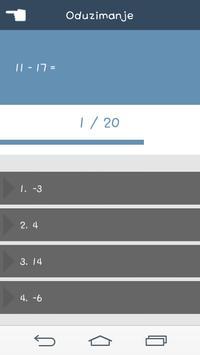 Matematički Kviz screenshot 3