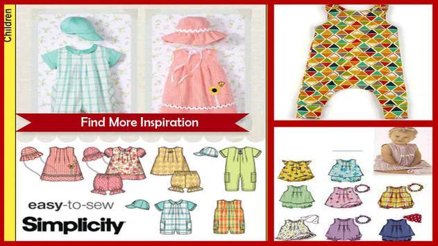 Baby Romper Sewing Pattern screenshot 1
