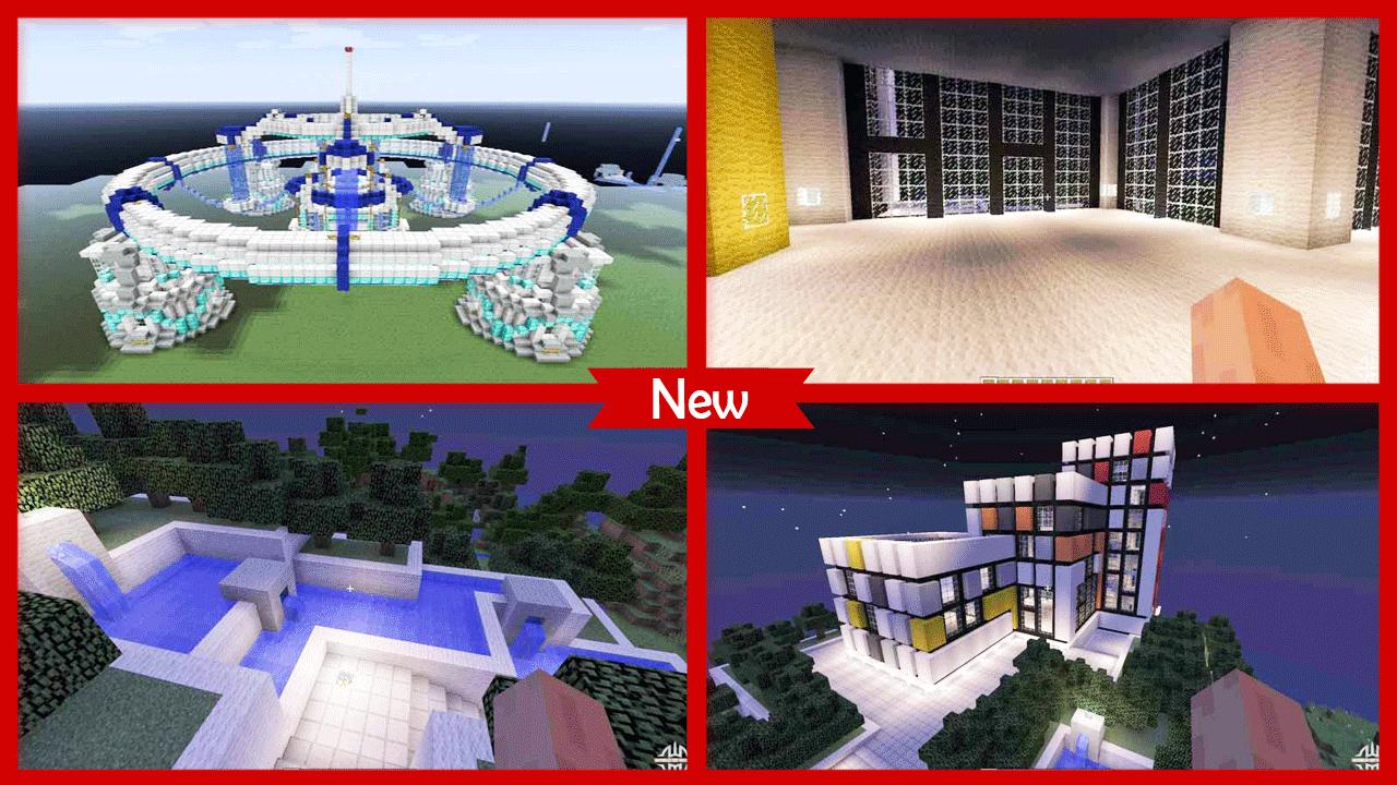 Futuristic House Minecraft for Android - APK Download