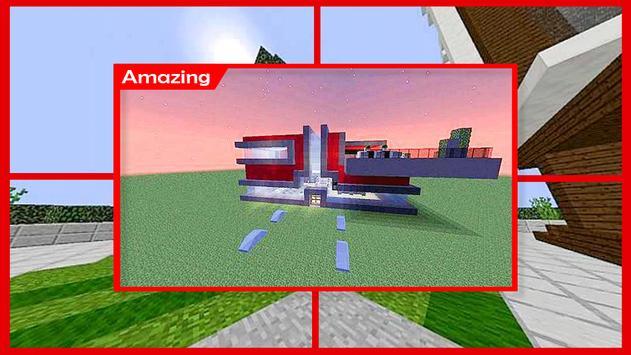 Futuristic House Minecraft screenshot 4